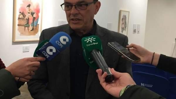 El secretario general del PSOE, Ignacio Caraballo.