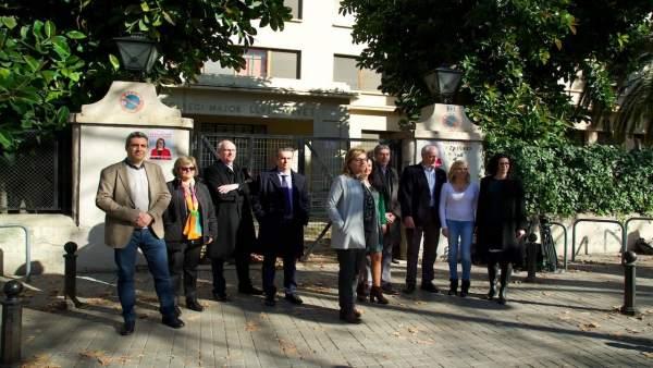 Presentación del equipo de la candidata María Antonia García Benau