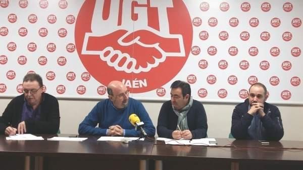 UGT-Jaén presenta el balance de las elecciones sindicales de 2017.