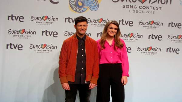 Los representantes epañoles en el Festival de Eurovisión 2018, Amaia y Alfred