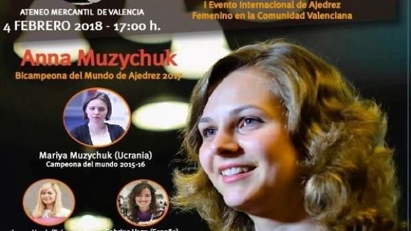 Women Chess Star en el Ateneo con las hermanas Muzychuk