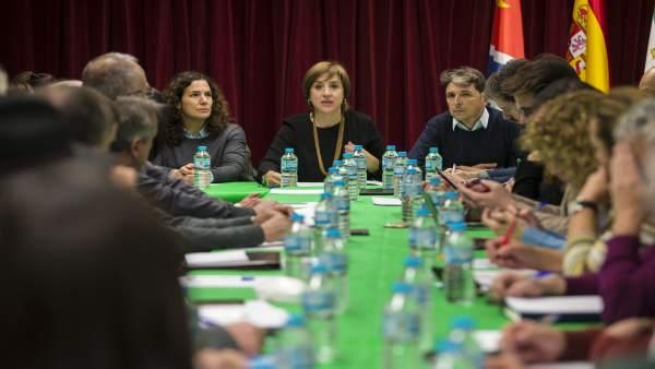 Reunión para analizar las prioridades de la Junta para área metropolitana sur