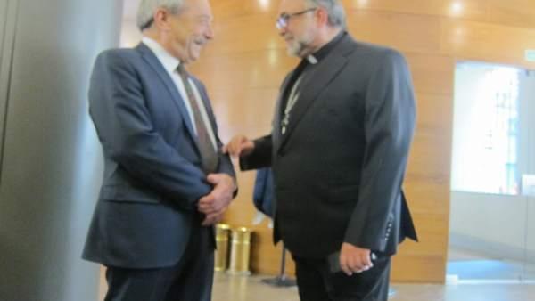 Wenceslao López y Jesús Sanz Montes.