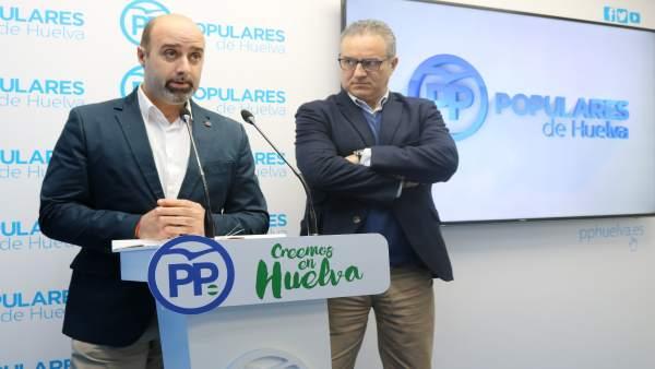 El portavoz del PP en Almonte, José Antonio Faraco.