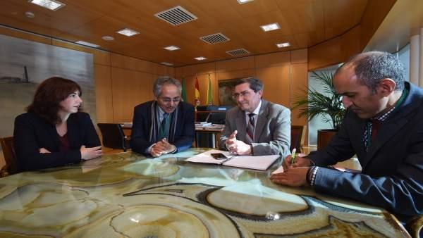 Reunión entre Diputación y la República Árabe Saharaui Democrática