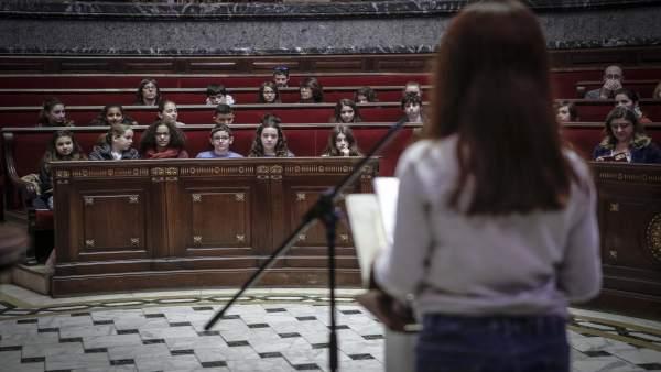 Parlament dels Xiquets en el Ayuntamiento de València