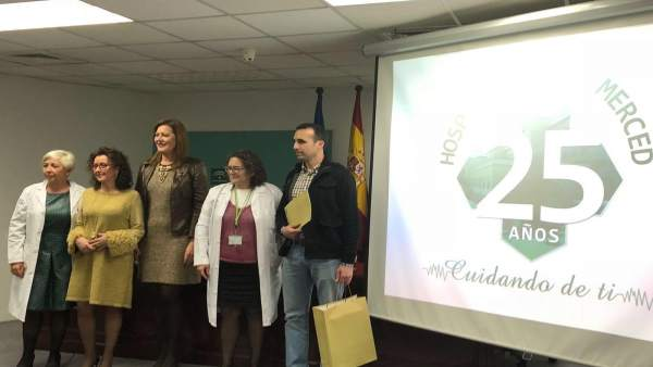 Presentación de la campaña del Hospital de La Merced