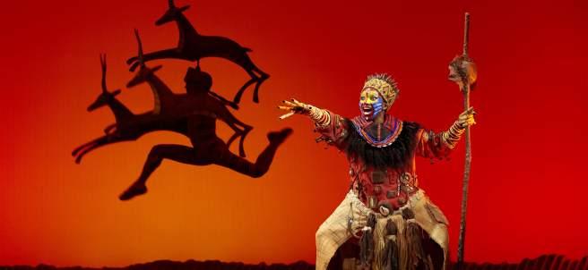 El musical de El Rey León
