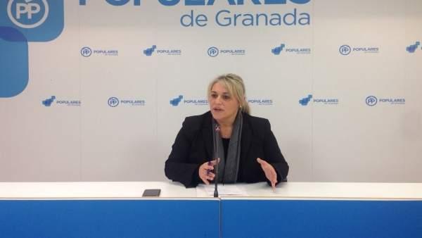 La diputada provincial del PP Merinda Sádaba