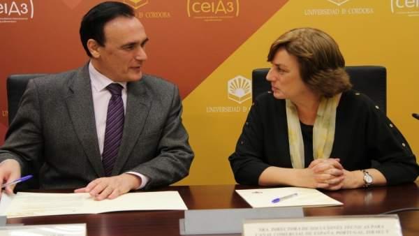 Gómez Villamandos y Rivas firman el convenio