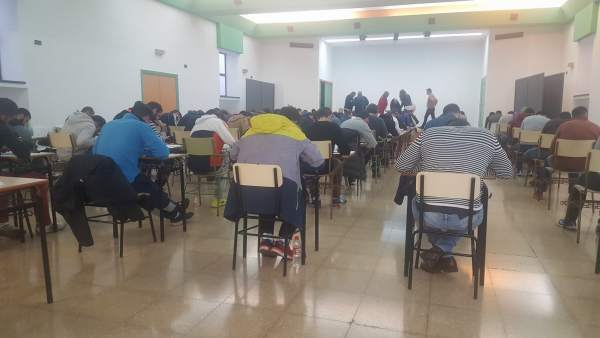 Asipitantes a bomberos de Jaén