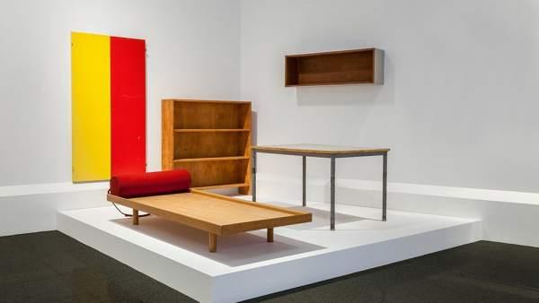 Muebles del Apartamento del Pavillon Suisse diseñados por Le Corbusier en 1933