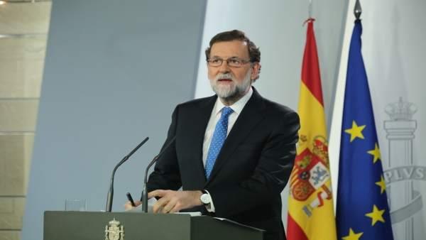 Rajoy comparece en Moncloa tras el Consejo de Ministros