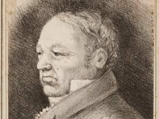 Rosario Weiss. Retrato de Goya. Burdeos, 1826