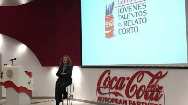 Elvira Lindo, en Coca-Cola