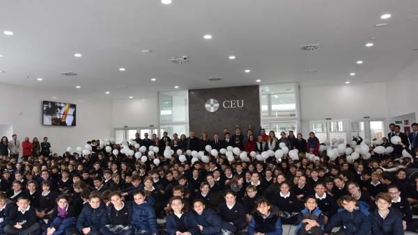 Alumnos del Colegio CEU San Pablo Sevilla
