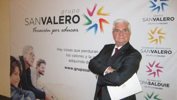 El presidente del Grupo San Valero, Ángel García de Jalón