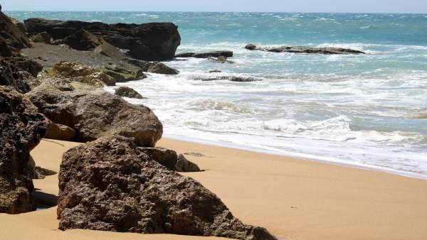 Playa De Los Caños De Meca En Barbate (Cádiz)