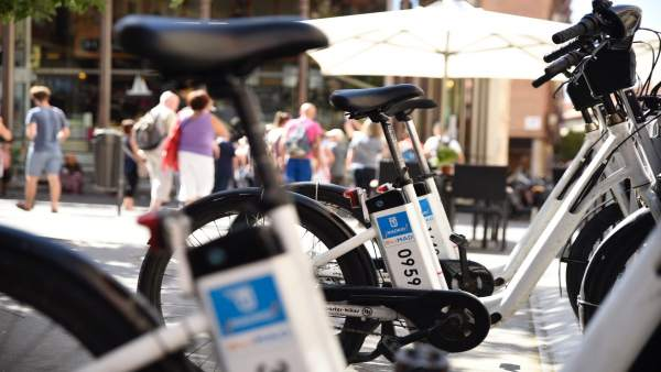 Bicicleta eléctrica, BiciMadrid, BiciMad, bicicletas