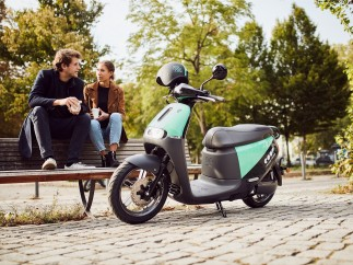 Gogoro 2 , moto eléctrica compartida