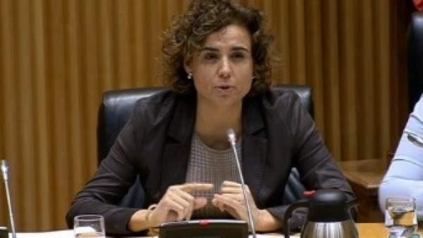Dolors Montserrat, en la comisión de Igualdad