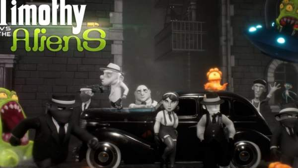 Timothy vs the Aliens desembarca en PS4