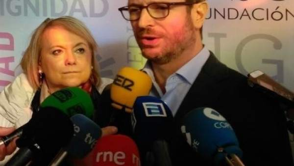 Mercedes Fernández y Javier Maroto
