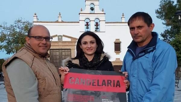 Gómez presenta la Fiesta de la Candelaria