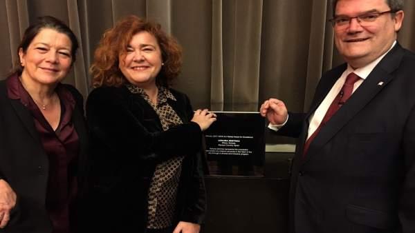 El alcalde de Bilbao recoge en premio ULI en Berlín