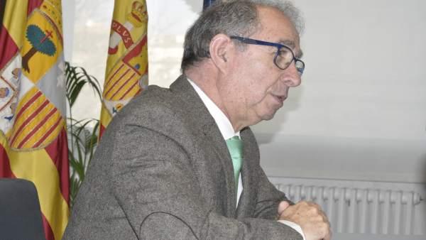 El consejero de Hacienda del Goiberno de Aragón, Fernando Gimeno.