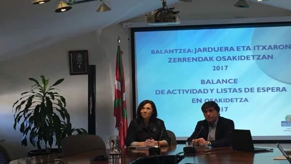Rueda de prensa balance osakidetza 2017