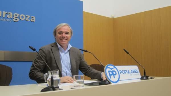 Jorge Azcón, Concejal Del PP En El Ayuntamiento