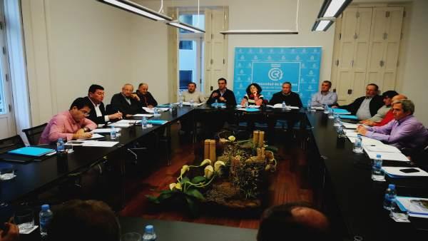 Junta de gobierno en la Comunidad de Regantes del Campo de Cartagena