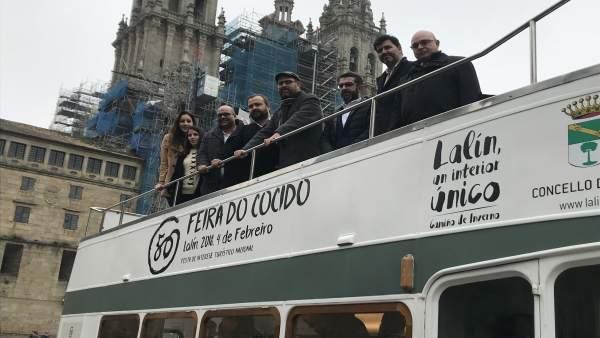Presentación en Santiago de la Feira do Cocido de Lalín