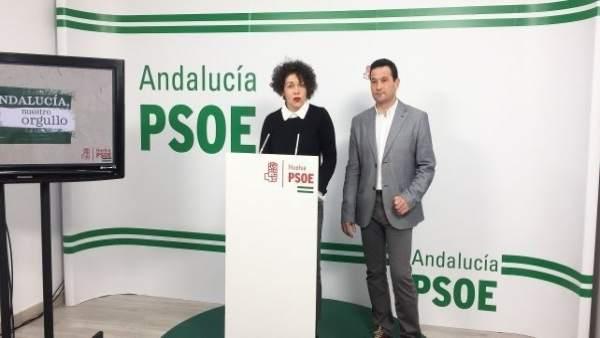 La secretaria de Memoria Histórica del PSOE de Huelva, Virginia Muñiz.