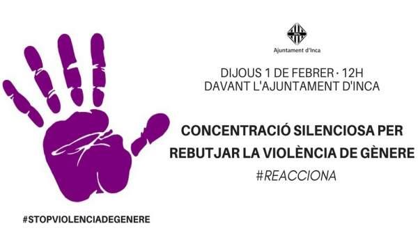 Concentración en Inca contra la violencia de género