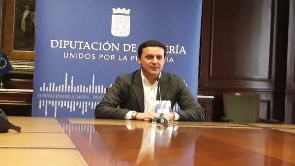 Javier Aureliano García, vicepresidente de la Diputación de Almería.