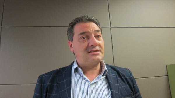 El procurador del PP Salvador Cruz.