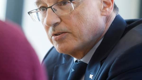 Federico Gutiérrez Solana, catedrático UC