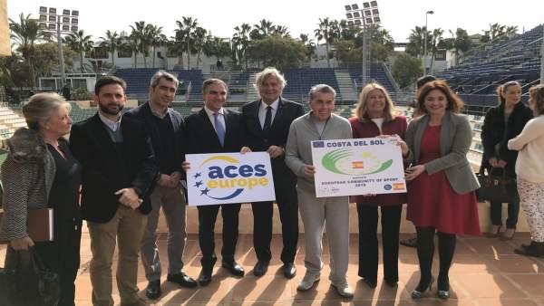 Mancomunidad Ccomunidad Europea del Deporte 2019 candidatura ACES Costa del Sol
