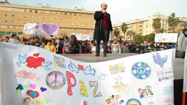 Pino participa en 'Celebramos el Día de la Paz'