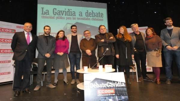 Debate sobre la Gavidia.
