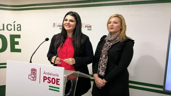 Noemí Cruz y Teresa Piqueras (PSOE)