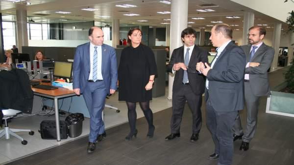 Manu Ayerdi visita Thomson Reuter.