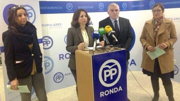 Patricia Navarro y Manuel Marmolejo