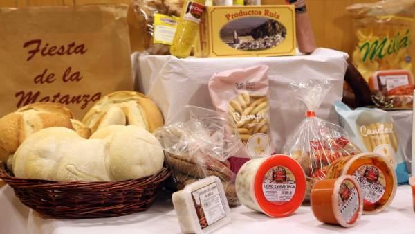 Fiesta de la Matanza de Ardales, productos, sabor a Málaga