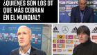 ¿Quiénes son los entrenadores mejor pagados del Mundial?