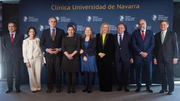 Inauguración de la Clínica Universidad de Navarra en Madrid