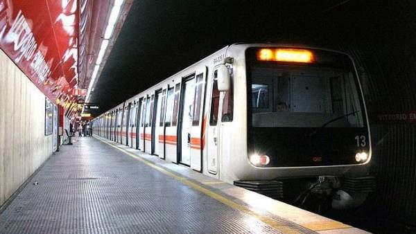 Agresión en el metro de Roma