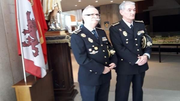 El nuevo director de la Escuela de Policía de Ávila